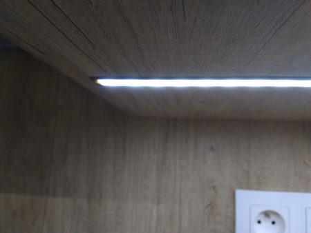 Meble kuchenne - oświetlenie